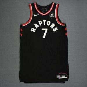 Kyle Lowry #7 Toronto Raptors NBA Jersey